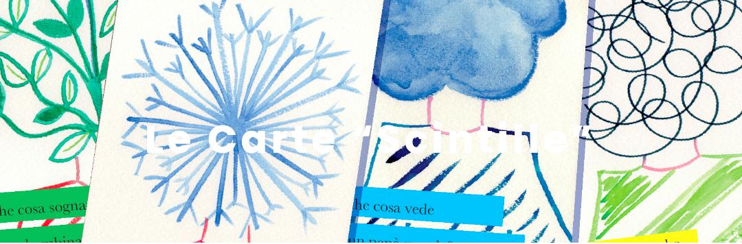Le carte Scintille: un bel dono di Labelluli e del Centro Alberto Manzi.